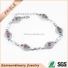 silver special chain bracelet fashion jewelry