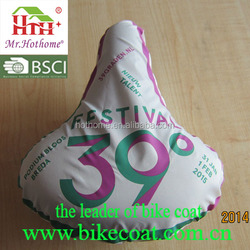 new design waterproof bicycle seat cover/custom bicycle seat cover