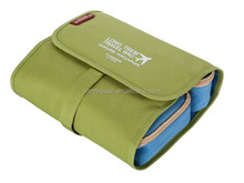 colorful foldable Toiletry wash bag With Compartment Cosmetic Bag