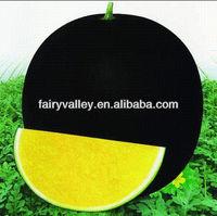 Raw bulk hybrid f1 black peel yellow seedless watermelon seeds for growing high sugar content water melon