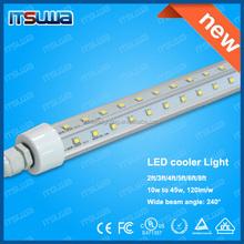 China High Luminous OEM Factory 4ft,5ft,6ft,8ft freezer led tube lighting for refrigerating cabin