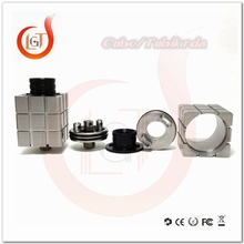 square rda atomizer !!Horizon Tech Authentic Arctic Tank Dual Coil Kennedy V2 Atomizer Stainless Steel Magic Cube RDA