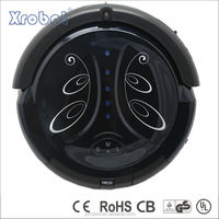 Electronic intelligent vacuum cleaner robot for drying water