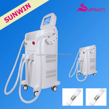 SW-238E hot new products in 2014 650-950nm wavelength Moving IPL SHR Painless feeling hair removal