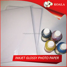 """190g soft silky Premium RC inkjet photo paper apply for Large format printer HP Canon rolls size in 63""""*30m factory supplier"""