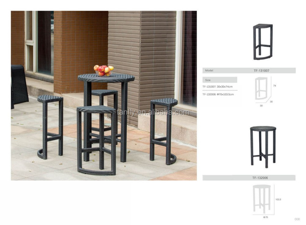 Wholesale Cheap 100 Handmade Rattan Used Home Bar Furniture Tf 131007