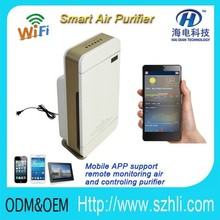 Home appliances automation Formaldehyde sensors /PM2.5 sensor/ Decoration pollution air refresh wireless air quality purifier