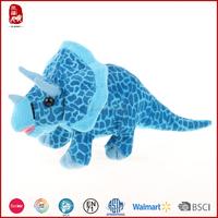 Meet EN71 ASTM standard triceratops plush dinasour toys wholesale