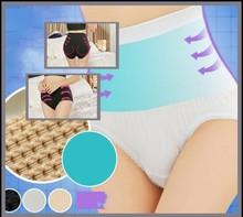 high waist slimming pants girls' underwear postpartum body shaping with flower