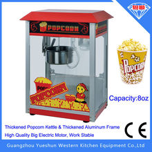 Factory manufacturing commercial kettle popcorn machine