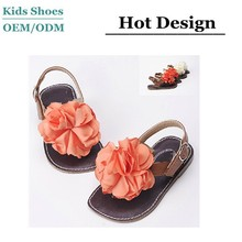 J-S0208 Guangzhou factory direct sale 2015 summer new style color choice yourself children girls flip flops