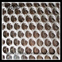 ISO 9001high quality Decorative facade panel perforated metal mesh