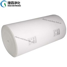 FS-600G Synthetic fiber F5/EU5 air prefilter material/ceiling filter roll for industrial painting