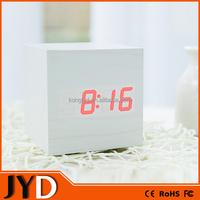 JYD- RWL003 Wooden Table Led Digital Clock FOR Car