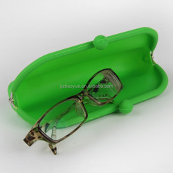 Designer glasses frames eyewear glasses case New Style Silicone metal glass case