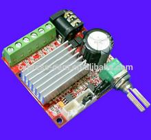 Nuevo 2.1 amplificador con DVD EVD AV hembra / interfaz de audio / conector / potenciómetro Mini 15 V clase d amplificador