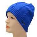 OEM disponible de punto lavables gorrita tejida bluetooth sombreros con auriculares para la función de conversación con manos li