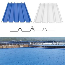 upvc trapezoid corrugated sheet for roofs