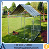 2016 hot sale wrought iron galvanized dog kennel/pet house/dog cage/run/carrier
