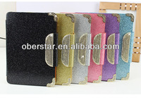 New stylish multifunctional latest hot selling color leather stand case for Apple iPad Ai