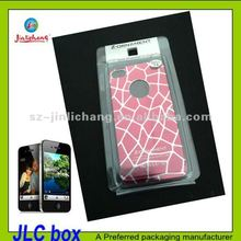 elegant blister packaging for iphone 4s case accessories