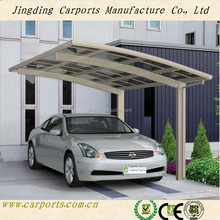 Used metal carports sale / walmart canopies with arched roof(JR)