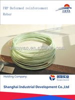 High elasticity fiberglass deformed reinforcement rebar