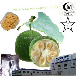 Low-calorie natural sweeteners Luo Han Guo Extract 50% Mogroside V / Monk Fruit Extract
