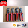 Natural Color German Type D4 Water Pump Pliers with PP+TPR Handle