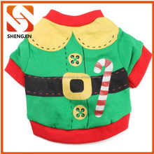 Fashion brand new cotton clothing for dogs christmas pet clothes