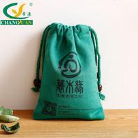 high quality drawstring custom cotton bag