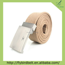 Ali Express 2013 beige canvas belt with golf design