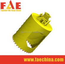Earth foundation construction, with concrete drilling teeth Core Barrel Teeth Carbide Bullet Bits