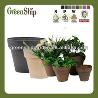 Decorative Cheap flower pots wholesale From Greenship/ long liftetime/patented products/eco-friendly