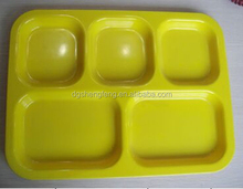 Melamine Nordic Ware Party Divided 5 Compartment Dinner Meal Plate tray