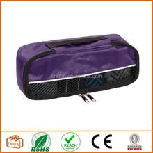 2015 Chiqun Dongguan Packing Cube Bag Nylon Travel Luggage Purple