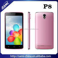 Cheap big screen smart phone 5 inch dual core 3g android mobile phone P8
