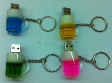 promotion usb flash New style design Beer usb flash