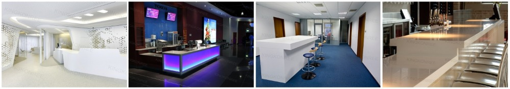 R ception pour salon de beaut prix petit bureau bureaux for Bureau western union