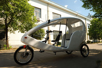 electric pedicab taxi bike for sale 300K-06