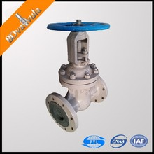 GOST cast gate valve WCB DN80 manual gate valve