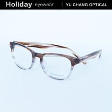 New design full rim acetate eyeglasses optical frame