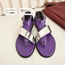 woman sandals new design flat model sandal 2015 new style women beach sandals