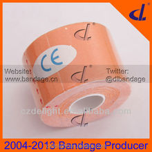 mixed colored muscle tape kinesiology