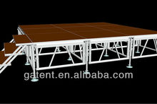 Portable Aluminum Plywood Stage Movable Plywood Stage