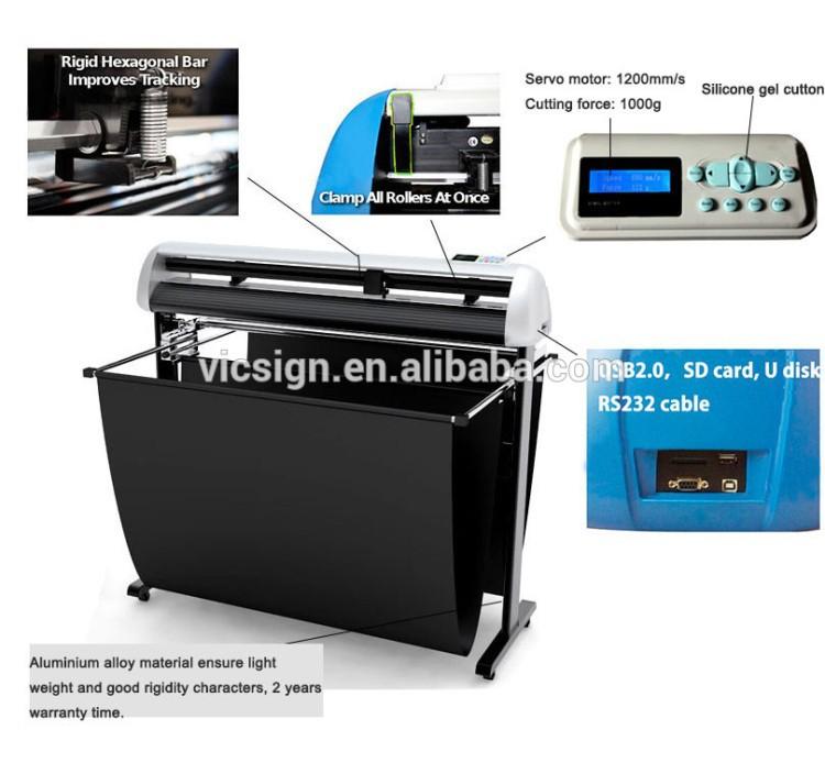 Vicsign Hot Sale Vinyl Cutter Plotter Printer Price 48