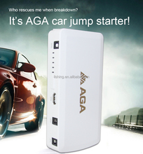 Multi-function jump starter AGA car backup power+mobile power +flashligh and torch