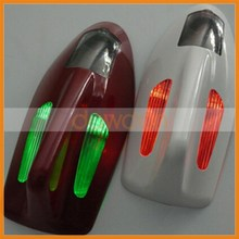 Accessories Auto Car Solar powered LED Flashing Car Shark Fin Warning Tail Lights Universal Aerial Antenna