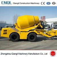 2.5cbm Self Loading Drum Concrete Mixer Truck