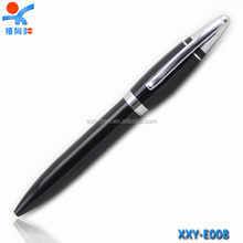 Hot new products for 2015 promotional black metal advertising ball pen